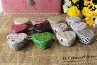 Wholesale 100PCS Relief stereo small tin kit storage candy box keyring pill box Card box Sundry postcards tin box EZ68