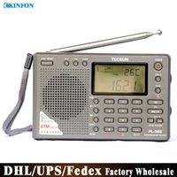 Wholesale DHL Fedex UPS PL Radio Digital Display Portable Radio FM Stereo LW SW MW DSP Receiver