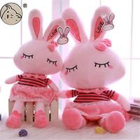 Unisex animal bunny rabbit - Rabbit Plush Toy Bunny Stuffed Animals Anime inch Lovely Rabbit Baby Plush Toy Doll Cute Cartoon Brithday Gift