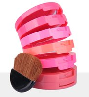 1 bake wear - Music Flower Blusher Palette Beauty color Red Blush Makeup Baked mineral Cream blusher VS ANA Glow Kit