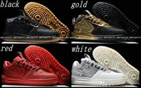 air force one shoes - Hot Air KPU Mens Running Shoes Lunar Force Duckboot I Men Shoes Skateboarding Airforce Sneaker Sports Trainers Force One Shoes Gold White