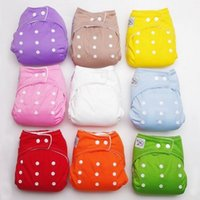 Wholesale New INSERTS Adjustable Reusable Baby Washable Cloth Diaper Nappies baby Training Pants Soft Baby
