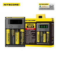 Wholesale Original New Nitecore I4 Battery Charger Universal Digicharger for AA AAA Li ion Lithium Batteries Charging