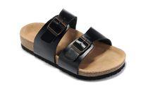 Precio de Hombres zapatos nuevos estilos-El nuevo estilo del verano calza la sandalia del corcho de las sandalias del hombre y de la mujer buena calidad Zapatos Mujer El tamaño ocasional 36-45 del tirón de los deslizadores de los deslizadores