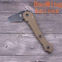 Wholesale Hot Mini Taktische faltende Axe Tomahawk Armee Outdoor Jagd Camping überleben Machete Achsen Hand Werkzeug Feueraxt Hatchet Axt Eis axt