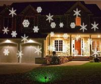 Wholesale 2016 Christmas Outdoor Garden Decoration Waterproof Laser Light Lawn Lamps Garden Laser Star Projector Showers Christmas halloween Lights