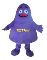 Wholesale Grimace Purple Monster Mascot Costume