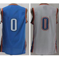Wholesale youth adult kid s russell westbrook jersey Stitched embroidery Logos cheap High quality Hot sale