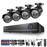 Wholesale SANNCE CH H HDMI DVR TVL CCTV Video Surveillance Security Cameras System for outdoor and indoor use