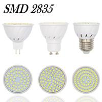 Wholesale 2835 Lampada LED Lamp E27 V W W W MR16 Lamparas LED Spotlight GU10 Bombillas LED Bulbs Luz Home Lighting