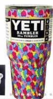 Wholesale TTT oz Yeti Rambler Tumbler Bilayer Stainless Steel Insulation Cups Leopard Yeti Camo Skull Flag Mugs Large Capacity