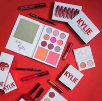 1set=6pcs beautiful kits - New Kylie Jenner Lipkit Valentine s day Edition KYLIE a set Lipstick Collection Mini Kit Lipkit Valentine Edition beautiful Lipgloss