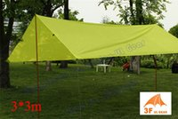 Wholesale T PU coating F UL Gear m outdoor tarp shelter high quality beach awning
