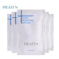 Wholesale New arival PILATEN Hair Removar Cream Painless Depilatory Cream For Leg Armpit Body g Hair Removal Cream DHL