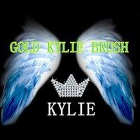 Wholesale Kylie Blush Face Brush Oval Brush Toothbrush shaped Foundation Brush Cream Puff Brush Power Makeup Beauty Cosmetic Foundation Brush opp bag