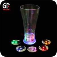 best coasters - Best Sellers Christmas Articles Halloween Valentine s Day circular LED Luminescence Bottle label Coasterglow coaster BAR COASTERS Articles