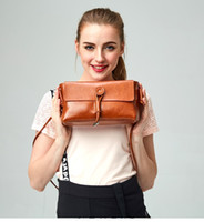 Wholesale DUSUN Women Messenger Bags Genuine Leather Handbag Women Bag Famous Brands Luxury Women Bags Designer Vintage Shoulder Bag L5015