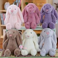 Rabbits & Monkeys baby monkeys - Kids Easter Bunny Plush Toys Rabbit Bunny Stuffed Dolls Cartoon Animal Soft Dolls Children Rabbit Plush Toys Baby Valentine s Gifts F518
