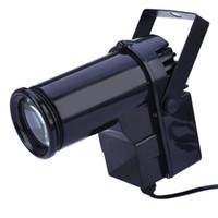 Wholesale Voice activated LED Stage Light Effect EU Plug Disco Light Super Bright W LED Pin Spotlight Projector For Dance Celebration