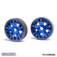 Wholesale TANSKY For Toyota MR2 S GTE Celica Adjustable Engine Motor Dual Cam Gear Shaft Wheel Sprocket TK CGMR2BL