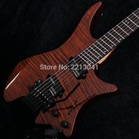 Wholesale New Factory Headless Strandberg Boden J Series J7 strings Electric Guitars China Guitarras with our good hardwares in stock