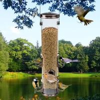 Wholesale wild bird feeder Outdoor bird feeders food container