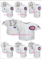 Cheap Baseball 2017 Gold Program Gold Chicago Cubs Best Men Short 17 Kris Bryant 44 Anthony Rizzo