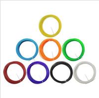 Wholesale 3D Printer Filament PLA mm Plastic Rubber Consumables Material D Print Pen m package Supplies hight quality