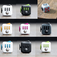 big kid fun - Fidget Cube Fun Cube anti irritability and Stress toy Juguet DIY Educational Toys for Girl Boys Adult Christmas Gift