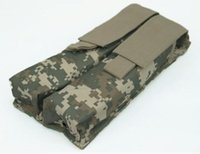 airsoft ump - Combat P90 Airsoft Molle Double Tactical UMP Magazine Pouch Outdoor Tactical Bags holster