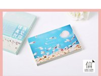 Wholesale Super beautiful CARDS and wind aesthetic creative postcard diy small pure and fresh nature photography gift of birthday CARDS