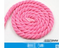 Wholesale 03 Sewing accessories Handmade accessories three color cotton rope the white cotton twist decorative rope sub beam rope