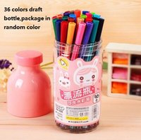 Wholesale colors Watercolor pen Set for Photo album decoration Stationery Markers Highlighter
