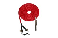 Wholesale High Quality Clip Cord For Tattoo Red Rubber Silicone Feet Cord For Power Supply Tattoo Machine