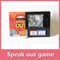 Wholesale Speak Out Game Board Game Interesting Party Game For Christmas For Hallowmas With High Quality And Fast Shippment