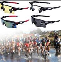 Sport en plein air Cyclisme Vélo Vélo Equitation Lunettes de soleil Lunettes Goggle UV Sport professionnel Vélos extérieurs Lunettes de soleil Lunettes KKA1351