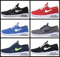 air max light - 2017 new Cheap SB Stefan Janoski Max Shoes Mens Women Running Shoes Light Weight cushion breathable Sport Sneakers basketball shoes