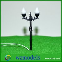 Wholesale HO scale street light Diorama traffic signal light model for architectural building material choice