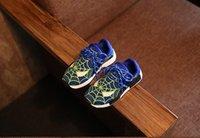 Precio de Zapatos de hombre araña para niños-Zapatos de los niños 2016 La nueva moda del intermitente de Spiderman del otoño de la primavera se divierte las zapatillas de deporte para los cabritos ligeros del deporte de los cabritos de los niños calza el tamaño 21-30 TX6