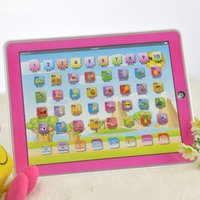 alphabet spanish - Spanish language letters number learning machine Y Pad computer flashing sounds children s learning educational toy music Led