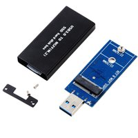 Wholesale Malloom Universal M KEY B NGFF SSD To High Speed USB Storage Case Adapter Card Enclosure Top Sale