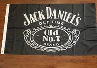 Wholesale Happy Hour x150cm Jack Daniels whiskey bar flag decoration digital printing Buckle