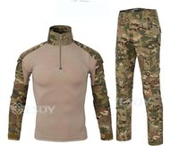 Wholesale Tactical Gear sets Outdoor chariot camouflage frog clothing anti ultraviolet radiation breathable