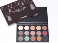 Wholesale Hot Brand New Morphe X Kathleen Lights Authentic Eyeshadow Palette high quality Morphe Kathleen Lights Limited Edition Palette