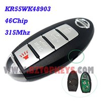 altima smart key - Smart remote car key button with panic KR55WK48903 mhz for Nissan Altima Maxima Keyless entry