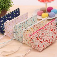 Wholesale Pc Cosmetic Cartoon Rural Style Bag Waterproof Makeup Storage Travel Beauty Case Portable Pouch Organizer Box Makeup Pouch