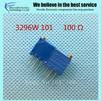 Wholesale W LF W ohm Top regulation Multiturn Trimmer Potentiometer High Precision Variable Resistor
