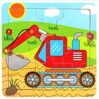 animal transport vehicles - New Children s Educational Learning Puzzles Toys Cartoon Jigsaw Wooden Transport Vehicles Games