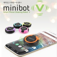 Wholesale Newest Factory Sale Smart Phone Cleaning robot V minibot Intelligent Automatic Mini Screen Cleaner Super Cleaner