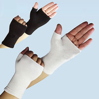 arthritis support gloves - Pair Unisex Elastic Palm Gloves Sport Hand Wrist Arthritis Brace Sleeve Support